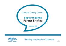 SOS partner briefing