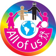 All of us circle logo