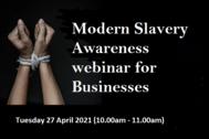 modern slavery webinar