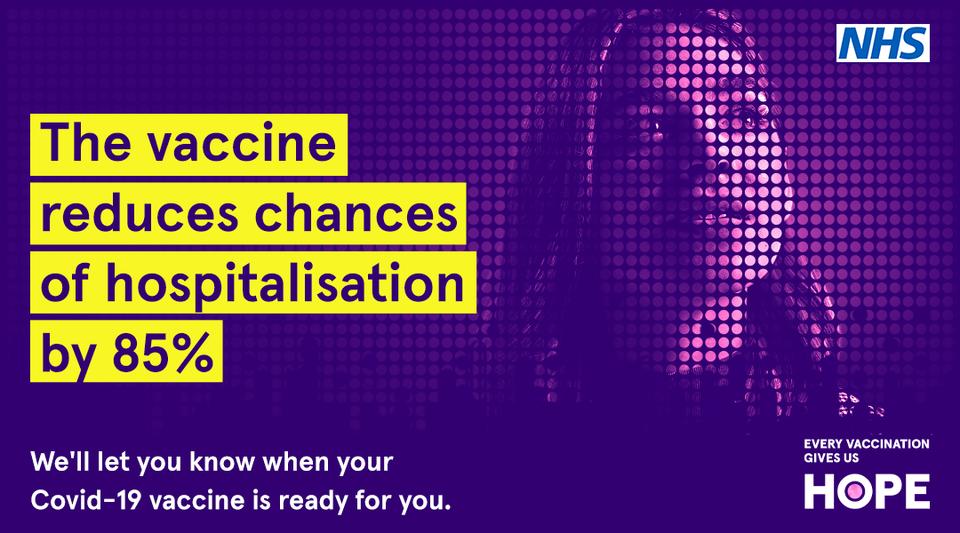 hope vaccination advert