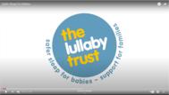 lullaby trust youtube image