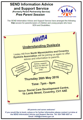 Dyslexia Free parent session