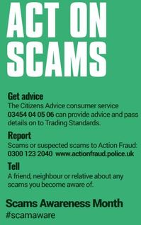 act on scams