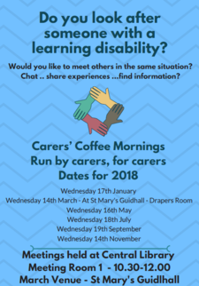Carers Coffee Mornings