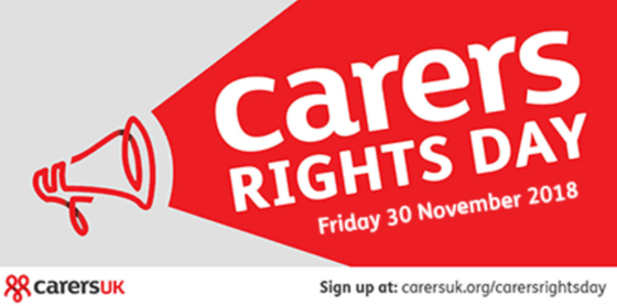 Carers Rights Day Banner
