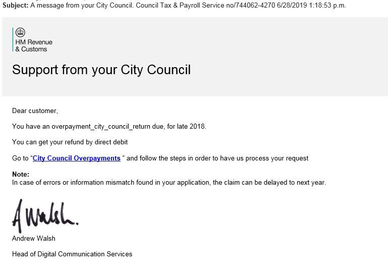 council email