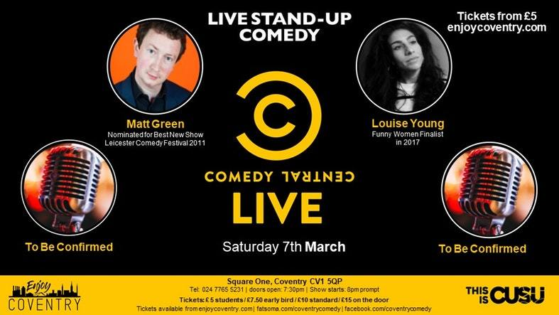 Comedy 7 March