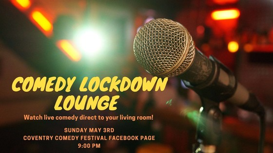 Comedy Lockdown lounge