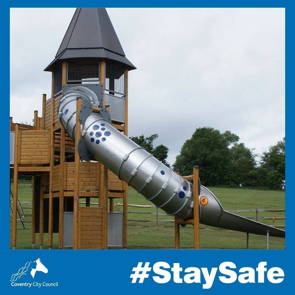 play areas stay safe
