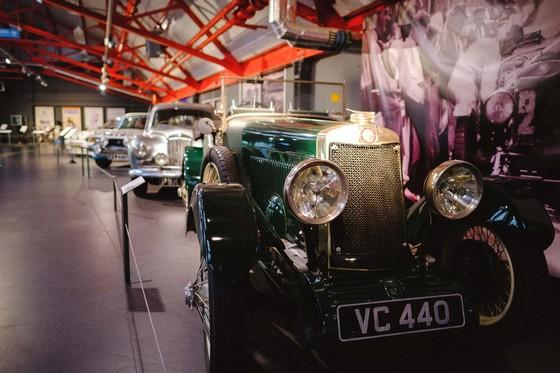 Cov Transport Museum inside 1
