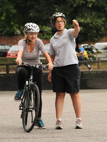 Adult Cycle training