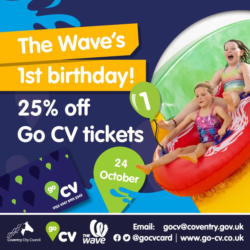 Wave's first birthday