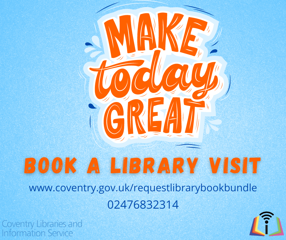 library advert