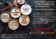 SENDIASS Virtual Coffee Morning Poster