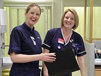 Frimley Park Hospital nurses