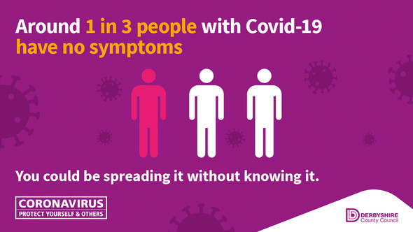 one in three people have covid without symptoms