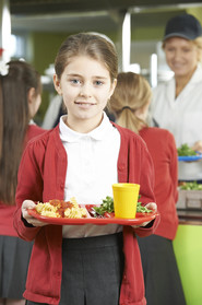 school dinner school lunch healthy