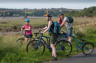 DCC family on cycle trail