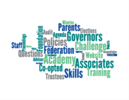 Governors and Trustee word cloud