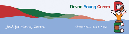 Devon Young Carers banner