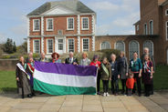 Suffrage Flag welcomed to DCC