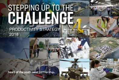 Stepping up to the challenge strategy front cover