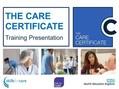 care induction training