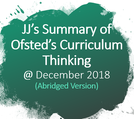 JJ Ofsted Curriculum Thinking