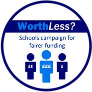 Worth Less Campaign logo