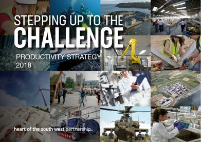 Stepping up to the challenge front cover