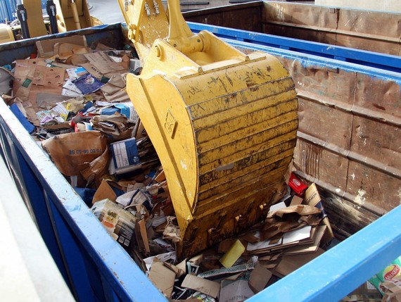 recycling centre skip