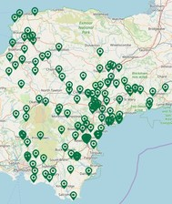 interactive map of community groups