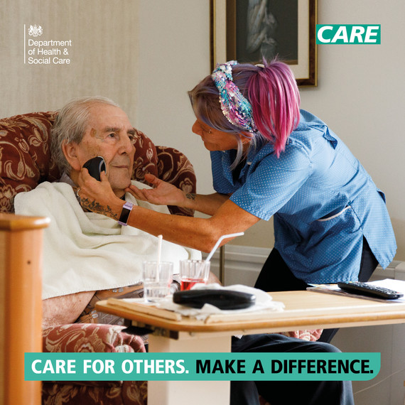 Care for Others campaign graphic