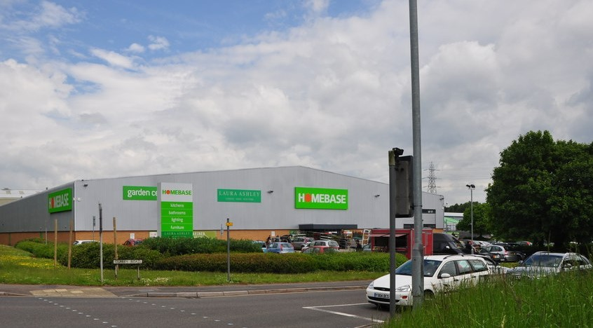 Photo of the homebase store at Sowton in Exeter by Lewis Clarke