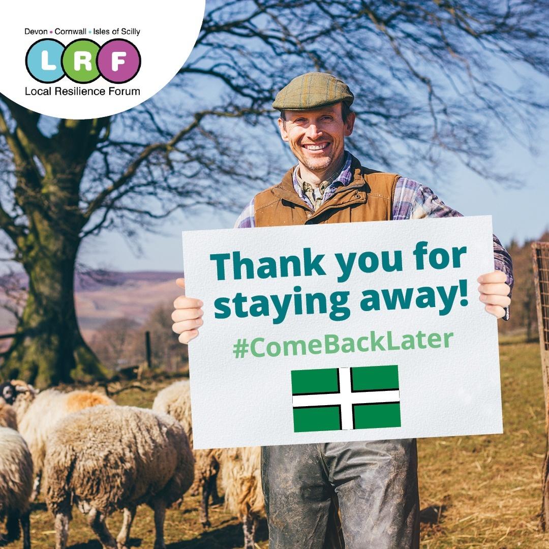 Come back later campaign