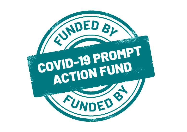 Funded by the COVID Prompt Action Fund
