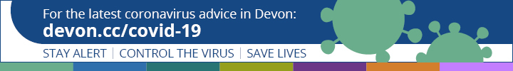 COVID-19 Devon banner