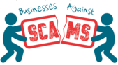 Businesses Against Scams logo