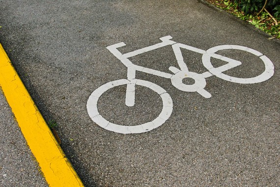 cycleway sign