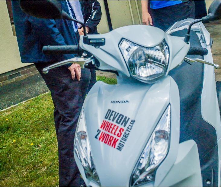 Devon Wheels 2 Work scooter