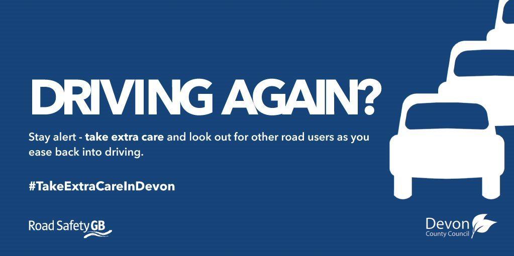 Driving again?