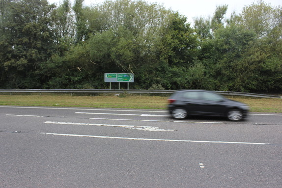 Photo of the North Devon Link Road