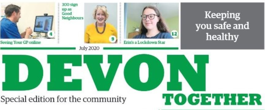 Devon Together newspaper header