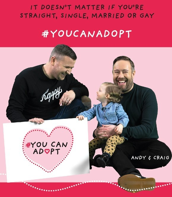 You can adopt campaign poster