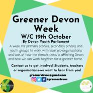 Greener Devon Week Campaign Post