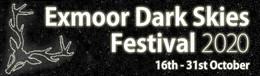 Banner for the Exmoor Dark Skies Festival
