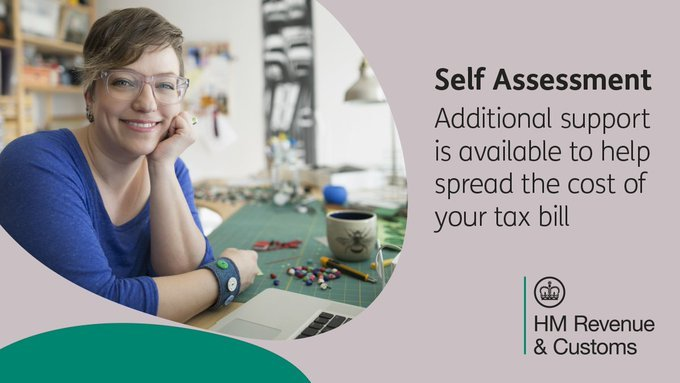 Additional support is available to help spread the cost of your tax bill