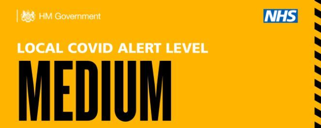 Government Medium alert level