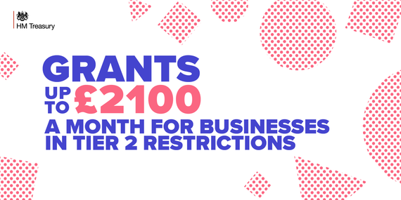 Grants for businesses in Tier 2 restrictions