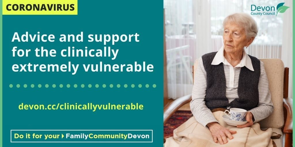 Advice and support for clinically vulnerable